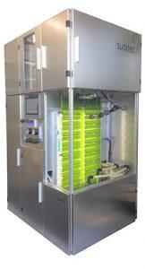 Microalgas en laboratorio